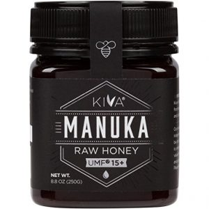 Best Manuka Honey - Kiva UMF 15+ Raw Manuka Honey